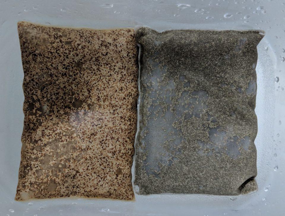 Used Purigen Bags