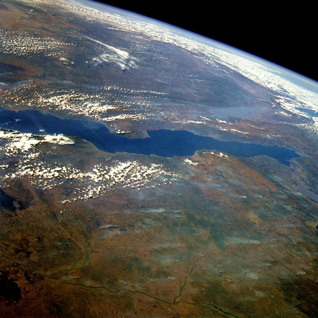 Lake Tanganyika from Space - NASA Image