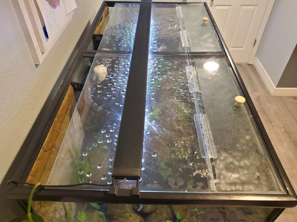 DIY Hinged Aquarium Lids
