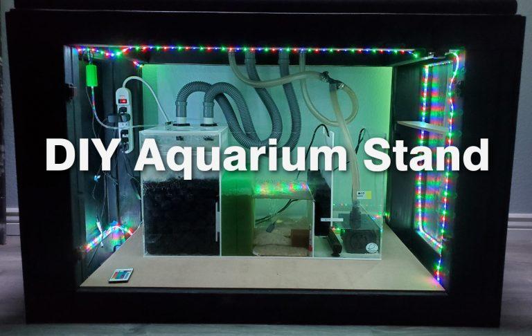 DIY Aquarium Stand for a 100 Gallon Tank